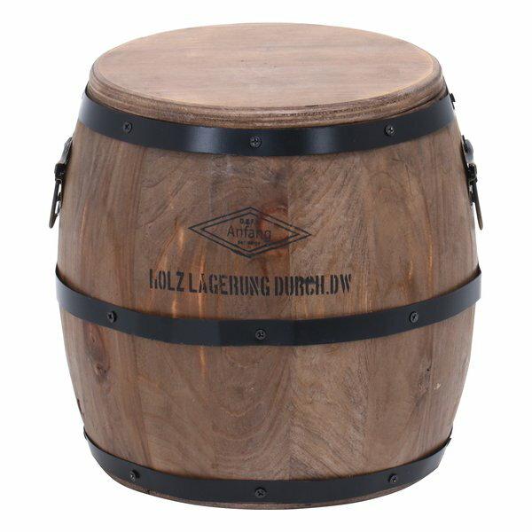 樽型スツール H23コード:31884 不二貿易