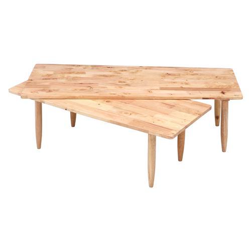 不二貿易 37002 natural signature センターテーブル ツインの写真
