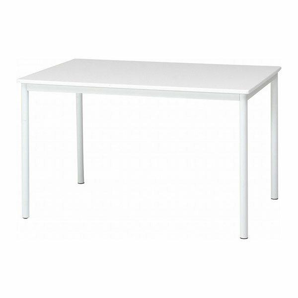84133 不二貿易 ダイニングテーブル シュクル 幅120 ホワイト SUCRE 84133フジボウエキ