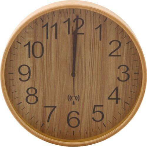 プライウッド電波掛時計 NA(1コ入)の写真