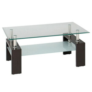 FBC/不二貿易 センターテーブル フォーカス 88421 ダークブラウンの写真