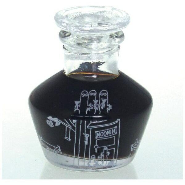 ムーミン 硝子しょうゆ差し  ニョロニョロ  MOOMIN 調味料入れ 醤油さし 江戸硝子の写真