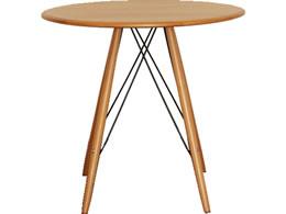 ルクロ カフェテーブル ナチュラル ブラウン 50560780