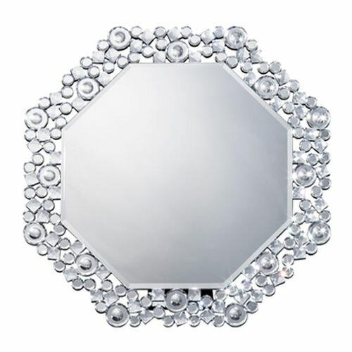 鏡 卓上ミラー 壁掛けミラー八角ミラー クリスタル 81016 DS-006の写真