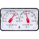 クレセル 精密温度計・湿度計 卓上用 HD-120