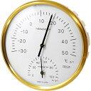クレセル 温度計・湿度計 壁掛け用 HD-105