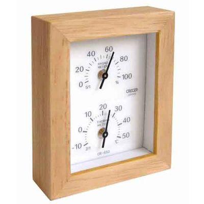 CRECER 温度計 湿度計Woody CR-650Wの写真