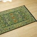 イケヒコ・コーポレーション 純国産 い草玄関マット Fビビアン グリーン 約70×120cm 裏ウレタン 8818070