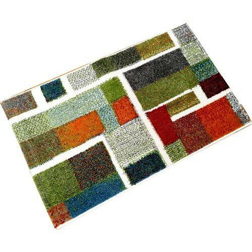 イケヒコ ウィルトン織り玄関マット エデン 約60*90cm(1枚入)の写真
