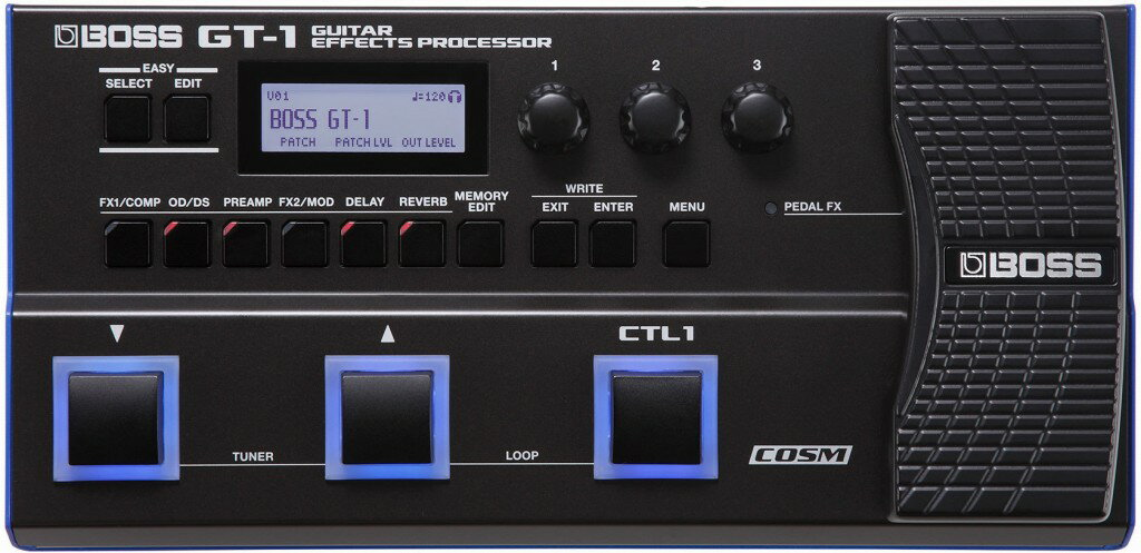 Boss Gt-1 Guitar Effects Processor マルチエフェクター ボス