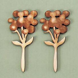 リラックスする木のお花/コットン(412051)の写真