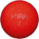 キャスコ KIRA KLENOT2 ゴルフボール ルビー 1ダース