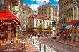 サム・パーク 陽のあたるパリのカフェ 1000ピース アップルワン Aワン1000-648ヒノアタルパリノ