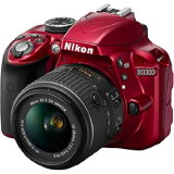 Nikon D3300 D3300 18-55 VR2 レンズキット RED