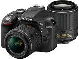 Nikon D3300 D3300 ダブルズームキット2 BLACK