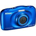 Nikon コンパクトデジタルカメラ COOLPIX W W150 BLUE クールピクス(COOLPIX) ニコン