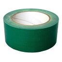 (アイネット) 布テープ 50mm×25m ( DS7030K(緑) )ガムテープ DS7030K(緑)