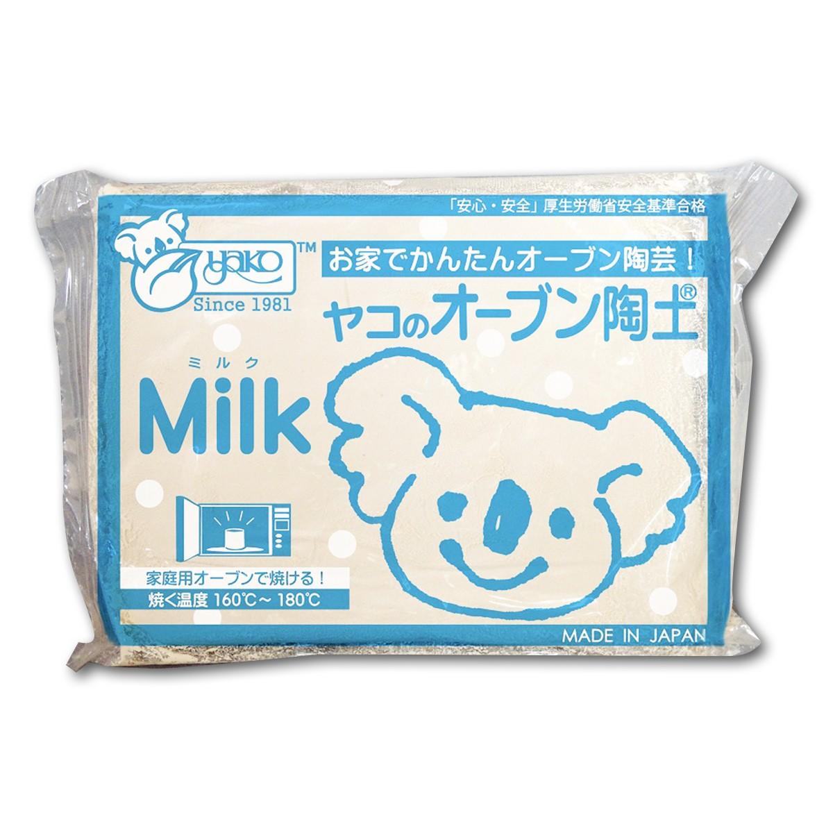 ヤコ オーブン陶土 ミルク 400g
