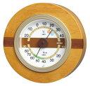 エンペックス気象計 ウッドクレスト温・湿度計 /TM-604