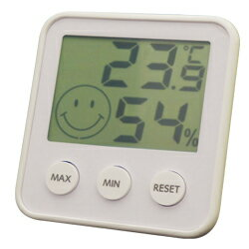 エンペックス デジタルミディ 温度・湿度計 TD-8311 シルキーホワイトの写真