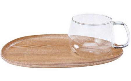 キントー FIKA カフェランチ ウッド ガラス 22588
