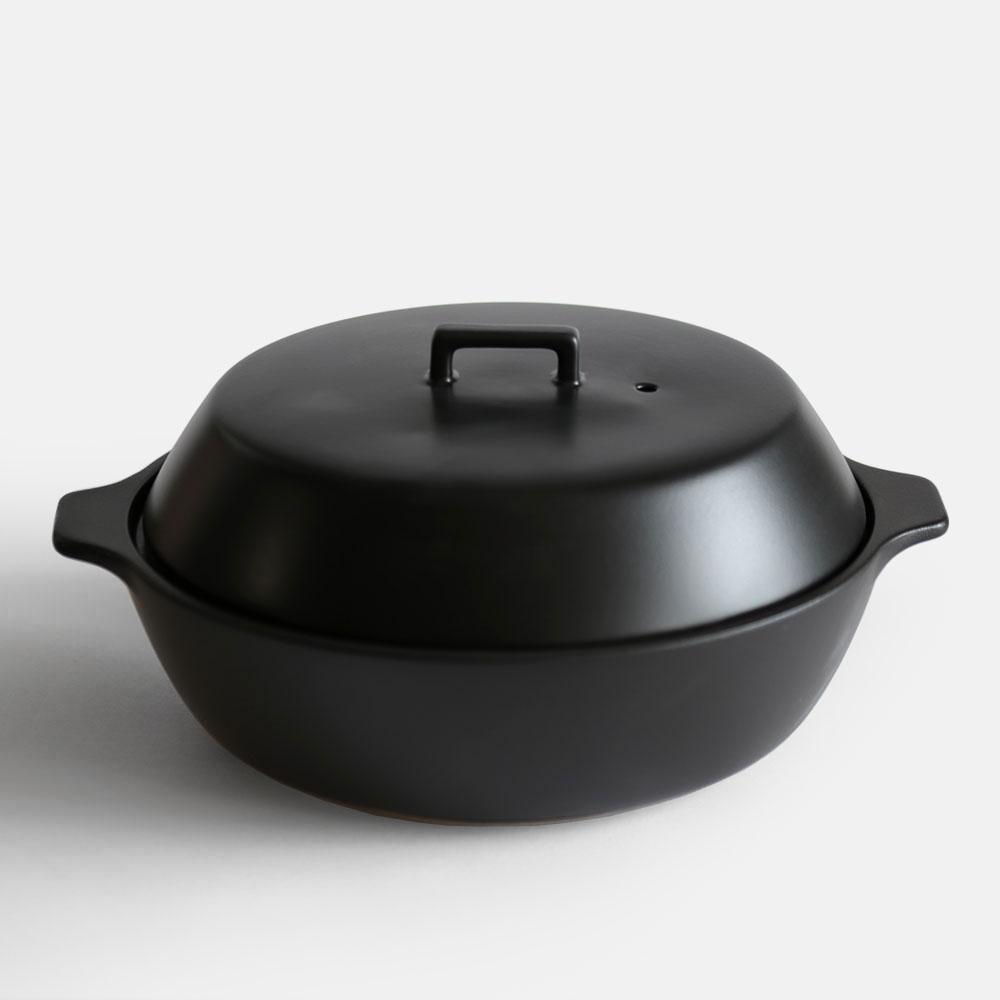KAKOMI IH土鍋 2.5L ブラック 25193