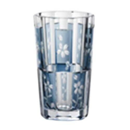 昭和ノグラス グラスカップ タンブラーL/鉄紺の写真