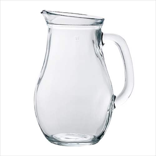 ウォータージャグ1000 ガラス製水差し H-4955 アデリア 1120ml トルコ製 ピッチャー石塚硝子通販の写真