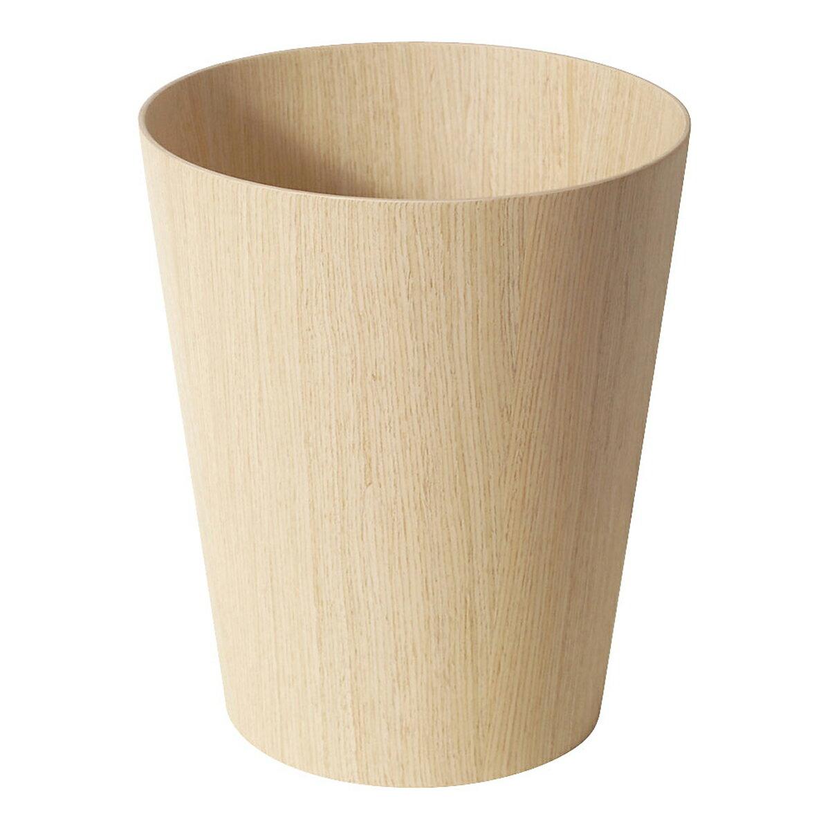 サイトーウッド 木製 ルーム用ごみ入れ ホワイトオーク 903H VGM2502の写真