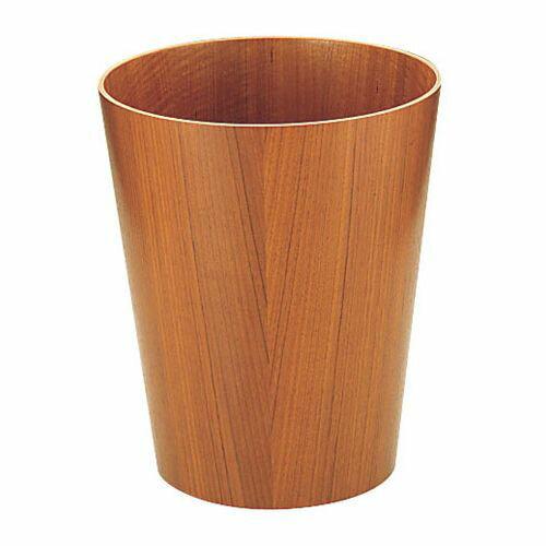 SAITO WOOD サイトーウッド 木製ルーム用ゴミ入れ チーク 905 大 VGM03905の写真