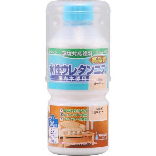 ニッペホームプロダクツ W水性ウレタンニス 透明 300ml