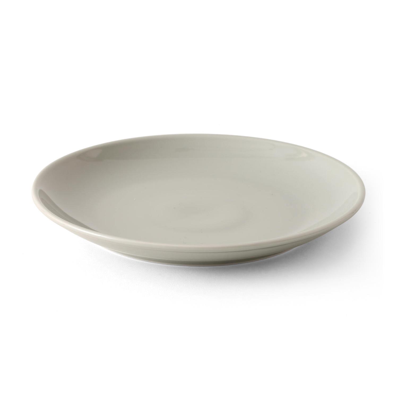 西海陶器 コモン プレート210mm グレー 13211