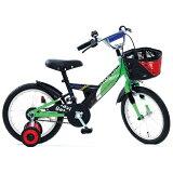 タマコシ 14型 幼児用自転車 ナビゲーターキッズ14 グリーン/シングルシフト