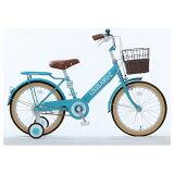 タマコシ16型 幼児用自転車 ルイスアミューズキッズ16 ターコイズ/シングルシフト アミューズキッズ