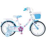 18インチ自転車 マリー 幼児用自転車 子供用自転車 キッズ用 補助輪付き BL
