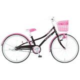 24インチ自転車 フルハート 子供用自転車 ジュニア用自転車 キッズ用 BK