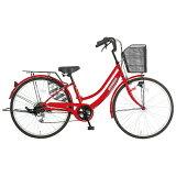 タマコシ 26型 子供用自転車 ステーブルファースト266HD レッド/6段変速