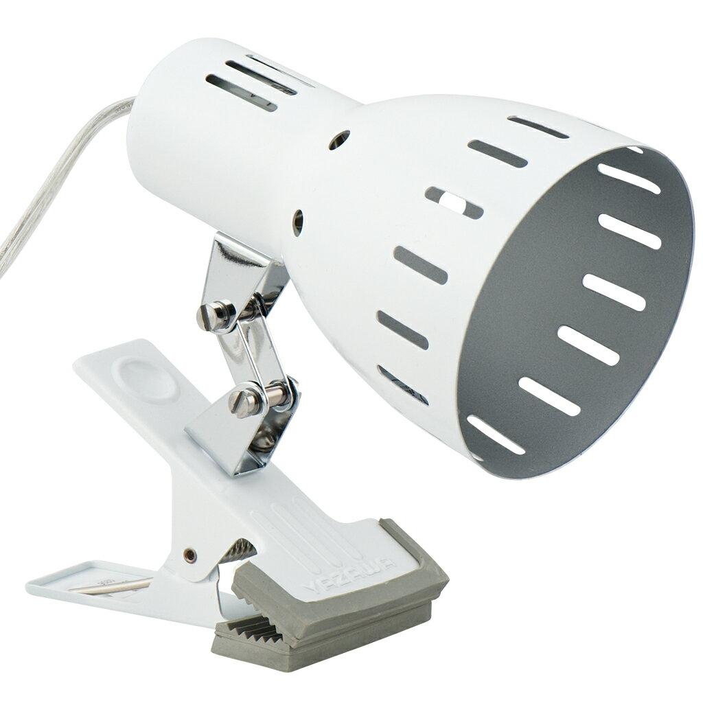 クリップライトホワイト E26 電球なし CLX605WH(1台)の写真