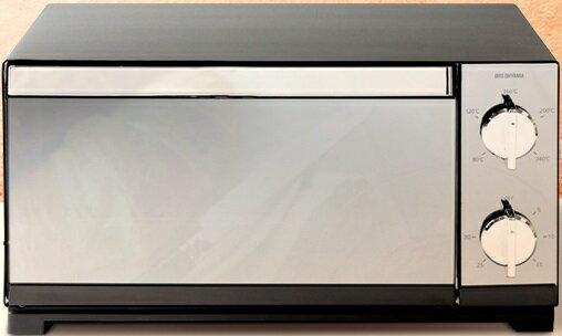アイリスオーヤマ ミラー調オーブントースター POT-413-Bの写真