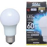 アイリスオーヤマ LED電球 E26広配光60形相当 昼白色 1個