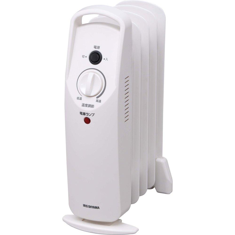 ミニオイルヒーター POH-505K-Wオイルヒーター ヒーター 暖房 ミニ コンパクト 5枚フィン ミニオイルヒーター ヒーター