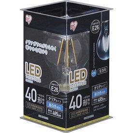 アイリスオーヤマ 調光器非対応LED電球 一般電球形・全光束485lm/昼白色・口金E26 LDA4N-G-FC
