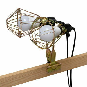 ledクリップライト屋内用 200形相当 ilw- c3 作業用 ライト クリップライト ワークライト 照明 ledクリップライトの写真