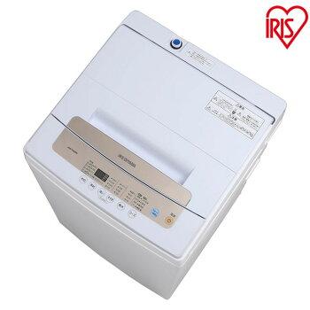 洗濯機 全自動洗濯機 5kg IAW-T502EN アイリスオーヤマ