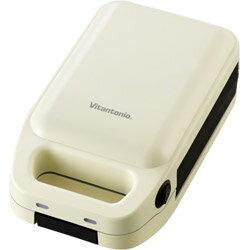 Vitantonio 厚焼きホットサンドベーカー グード VHS-10-EGの写真