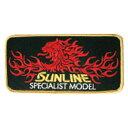 サンライン(SUNLINE) サンラインエンブレム EM1016 ブラック