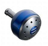 シマノ/SHIMANO 夢屋アルミラウンド型パワーハンドルノブ ブルー L ノブ TypeB用