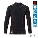 シマノ ブレスハイパー+℃ストレッチハイネックアンダーシャツ(極厚タイプ) IN-021N ブラック Lサイズ