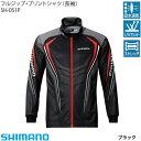 シマノSHIMANO  フルジップシャツSH-051Pブラック M