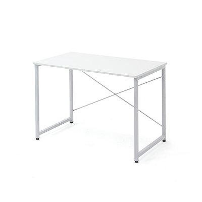 シンプルワークデスク オフィスデスク  幅 奥行  シンプルなホワイト天板  100-deskf003 の写真